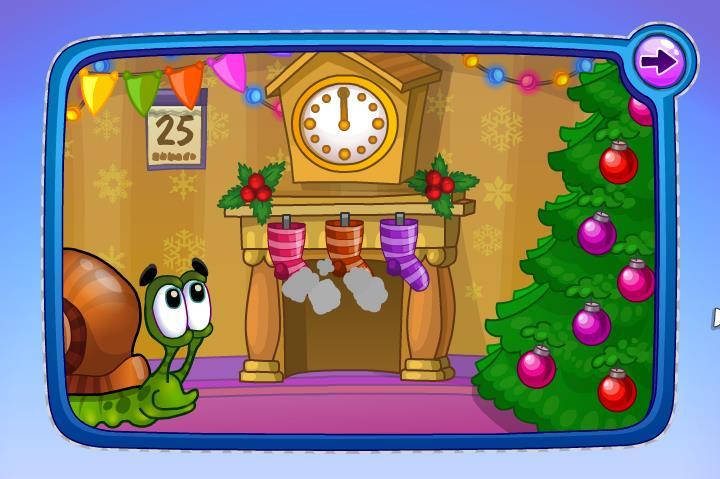 Играть в боб улитка новый год