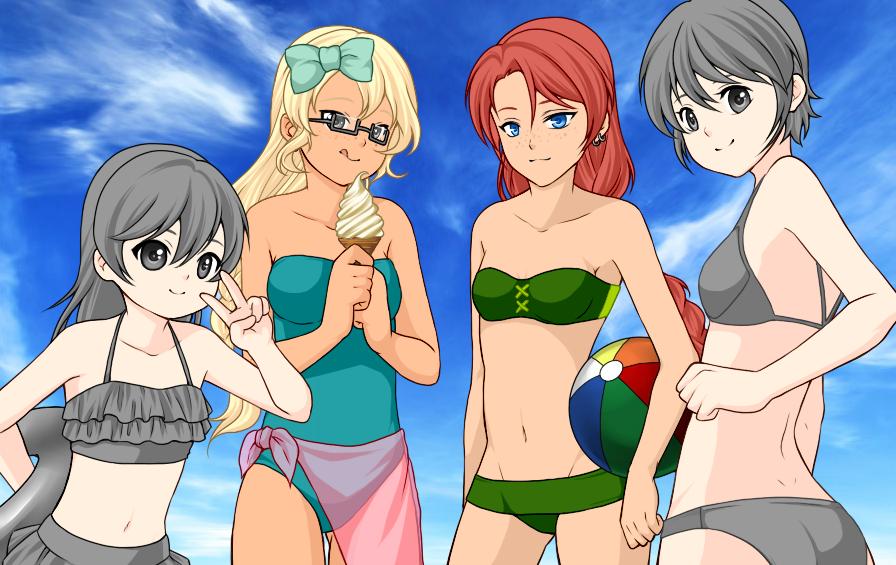 картинки девушек 18 аниме