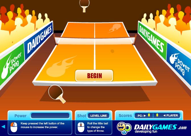 Изображение из игры Пинг-Понг