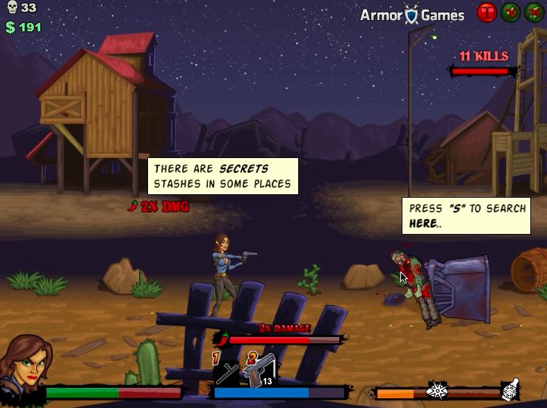 Игра для мальчиков о текила зомби 2