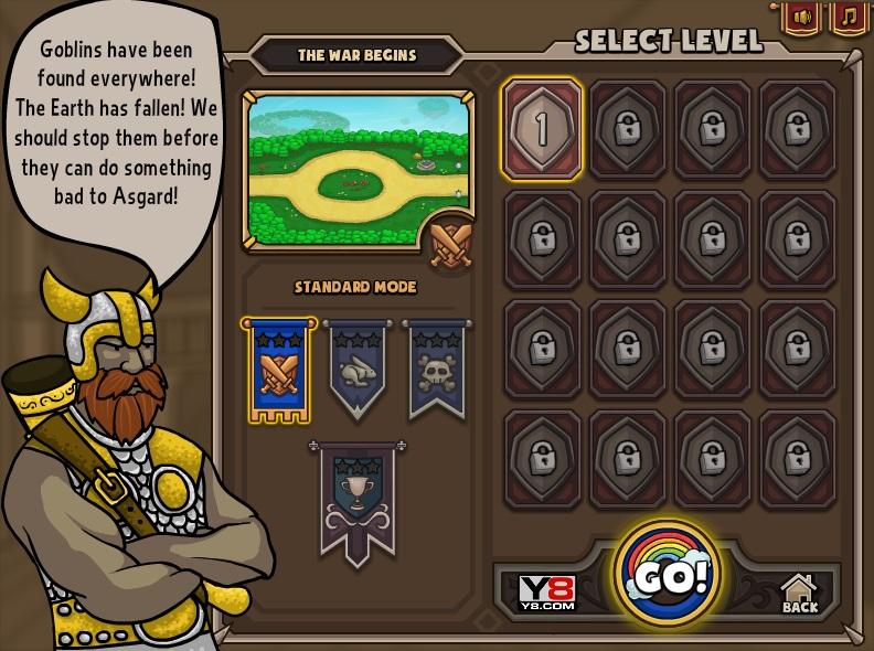 Изображение из игры TD: Атака на Асгард