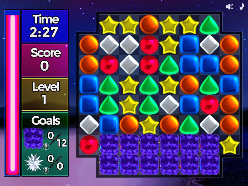 кристаллы играть онлайн