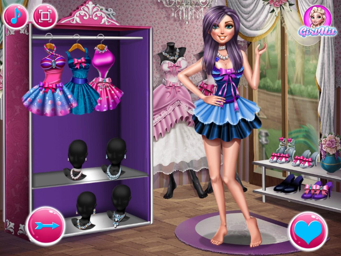 Флеш-игры для девочек одевалки макияж
