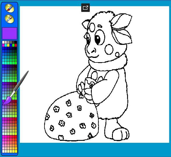 Раскраска девочки 4 года играть онлайн бесплатно