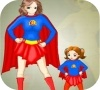 Game Super Mom and Kid Dress Up