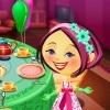 Игра Одевалка: Чайная вечеринка Алисы