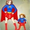 Игра Одевалка: Супер Мама и Малышка