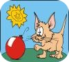Game Cats and Dogs Coloring Book