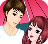 Игра Romantic Raining Valentine