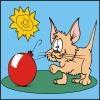 Игра Книжка раскраска Кошки и Собаки
