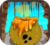 Игра Пещерные люди ПРОТИВ Динозавров: Кокосовый Бум