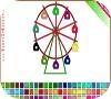 Game Ferris wheel Coloring