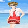 Игра Карен на пляже