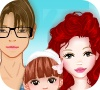 Game My family dress up game