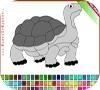 Игра Раскраска: черепаха