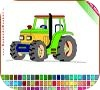 Game Tractor Coloring