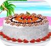 Игра Украшаем кокосовый торт