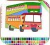 Игра Раскраска: Двухэтажный автобус