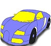 Game Elegant car coloring