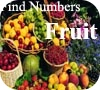 Game Find Numbers - Fruit