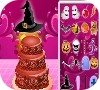 Game Halloween Cake Decor