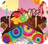Игра Кулинария: Торт радужный клоун