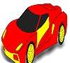 Игра Раскраска: Автомобиль - 2