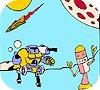 Игра Раскраска: Роботы