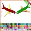 Игра Раскраска: Самолеты