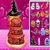 Игра Украшение торта к Хелловину