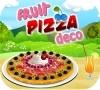 Игра Украшение фруктовой пиццы