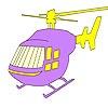 Игра Раскраска: Вертолет