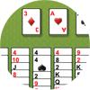 Игра Пасьянс: Свободная ячейка