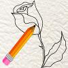 Игра Как нарисовать розу