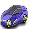 Игра Раскраска: Стильный автомобиль