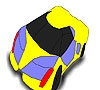 Игра Раскраска: Гоночная машина