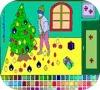 Игра Рождественская раскраска 2