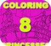 Game Coloring 8 Princesses