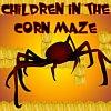 Игра Дети в лабиринте с пауками