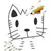 Игра Нарисуй милого кота