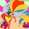 Игра Детская раскраска: Волшебный лис