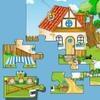 Игра Детский крупный пазл: Ферма