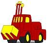Игра Раскраска: Трактор