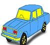 Игра Раскраска: Какого цвета авто?