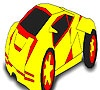 Game Magnificent car coloring