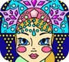 Game Snow Maiden Coloring