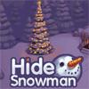 Игра Спрячь снеговика