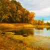 Игра Пазл: Осеннее озеро.
