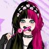 Игра Одевалка: Девочка эмо