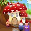 Игра Дизайн: Домик-грибок